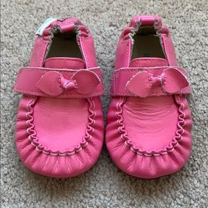 Robeez leather baby moccasins